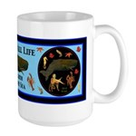 Respect All Life Large Mug