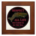 Respect Life Framed Tile