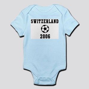 Switzerland Soccer 2006 Infant Creeper