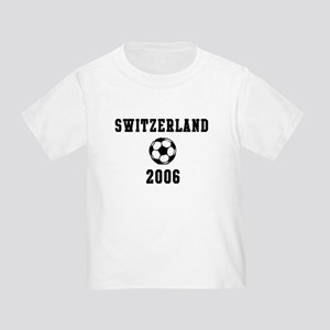 Switzerland Soccer 2006 Toddler T-Shirt