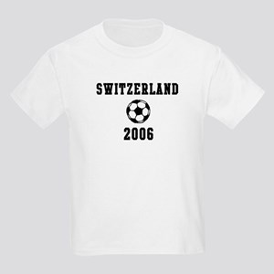 Switzerland Soccer 2006 Kids T-Shirt