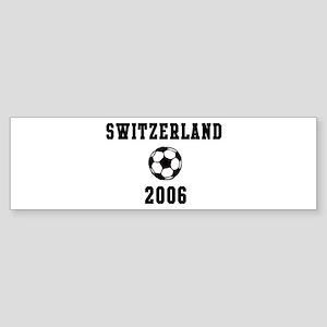 Switzerland Soccer 2006 Bumper Sticker