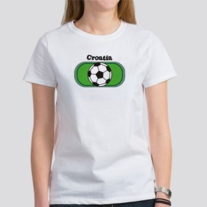 Croatia Soccer Field Women's T-Shirt