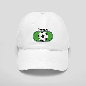 Croatia Soccer Field Cap