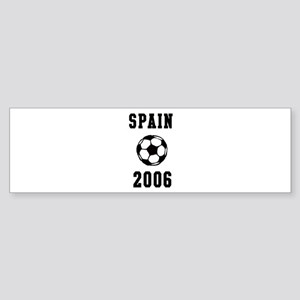 Spain Soccer 2006 Bumper Sticker