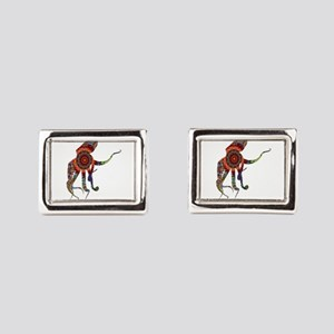 BOHEMIAN PULSE Rectangular Cufflinks