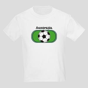 Australia Soccer Field Kids T-Shirt