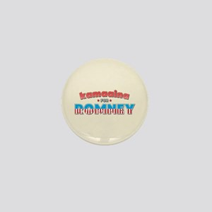 Kamaaina For Romney Mini Button
