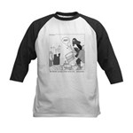 Bee Beard Kids Baseball Jersey