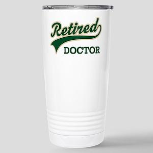 Retired Doctor Gift Stainless Steel Travel Mug