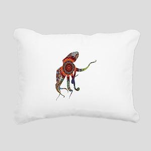 BOHEMIAN PULSE Rectangular Canvas Pillow