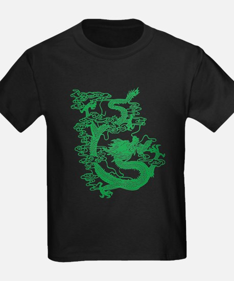 Green Chinese Dragon T