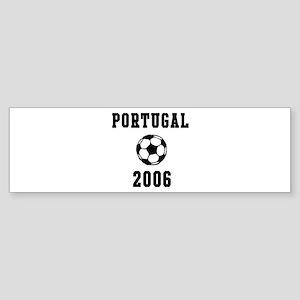 Portugal Soccer 2006 Bumper Sticker