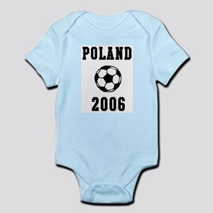 Poland Soccer 2006 Infant Creeper