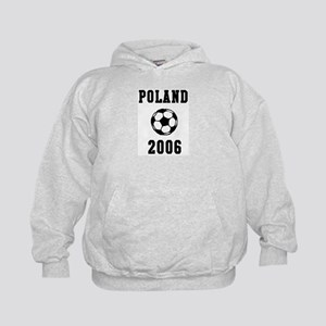 Poland Soccer 2006 Kids Hoodie