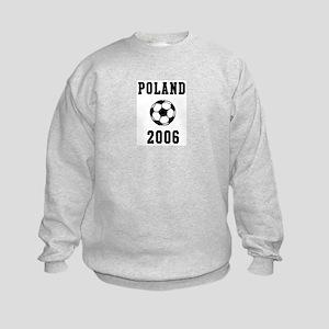Poland Soccer 2006 Kids Sweatshirt
