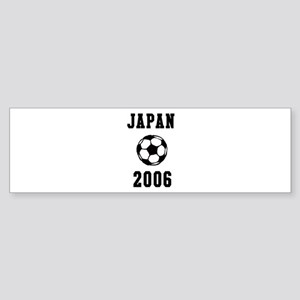 Japan Soccer 2006 Bumper Sticker