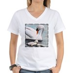 Someone Watching Over You Women's V-Neck T-Shirt