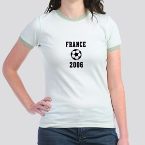 France Soccer 2006 Jr. Ringer T-Shirt