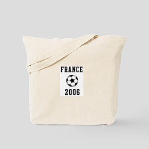 France Soccer 2006 Tote Bag