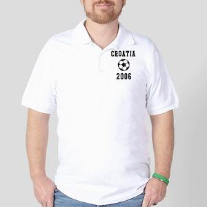 Croatia Soccer 2006 Golf Shirt