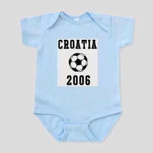 Croatia Soccer 2006 Infant Creeper