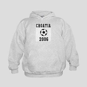 Croatia Soccer 2006 Kids Hoodie