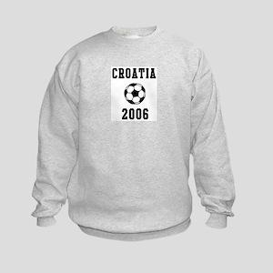 Croatia Soccer 2006 Kids Sweatshirt