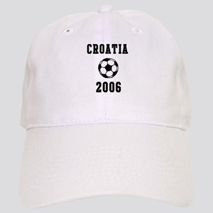 Croatia Soccer 2006 Cap