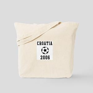 Croatia Soccer 2006 Tote Bag