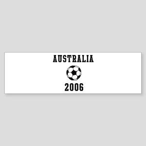 Australia Soccer 2006 Bumper Sticker