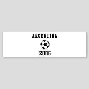 Argentina Soccer 2006 Bumper Sticker