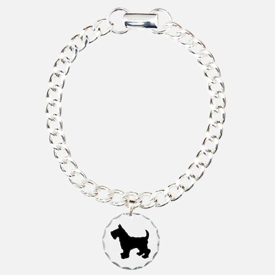 Scottish Terrier Silhouette Bracelet