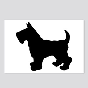 Scottish Terrier Silhouette Postcards (Package of