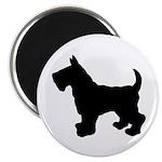 Scottish Terrier Silhouette 2.25