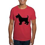Scottish Terrier Silhouette Dark T-Shirt
