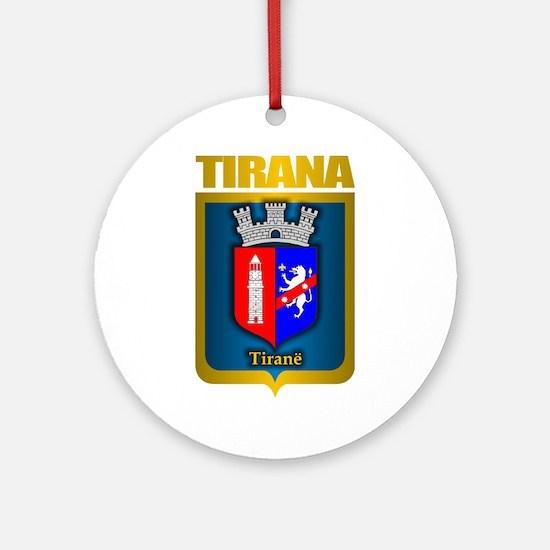 Tirana Ornament (Round)