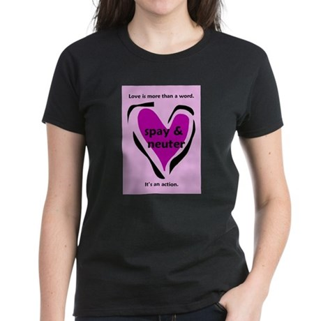 Love is more than a word pink Greeting Card T-Shir