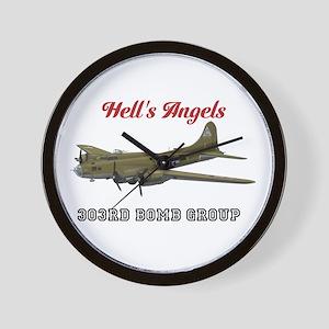 303rd Bomb Group Wall Clock