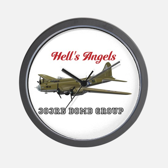 303rd Bomb Group Wall Clock