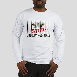 StopCrueltytoAnimals Long Sleeve T-Shirt