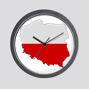 """Pixel Poland"" Wall Clock"