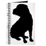 Shar Pei Silhouette Journal