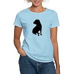 Shar Pei Silhouette Women's Light T-Shirt