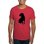 Shar Pei Silhouette Dark T-Shirt