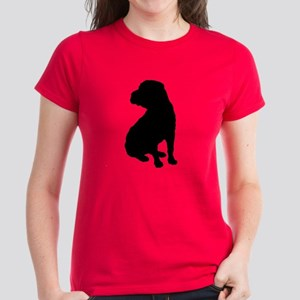 Christmas or Holiday Shar Pei Silhouette Women's D