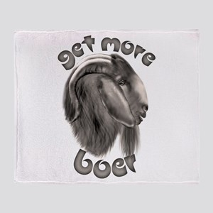 Get More Boer Goat Throw Blanket