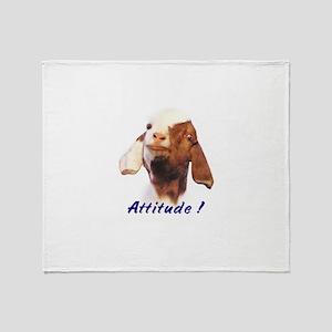 Boer Attitude! Throw Blanket