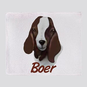 "GOAT-Boer ""Sasha"" Throw Blanket"