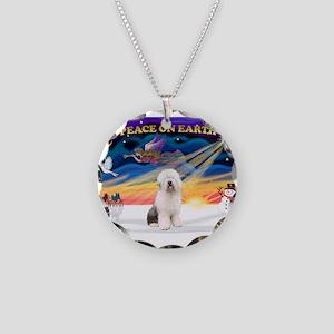 XmasSunrise/OES #3 Necklace Circle Charm